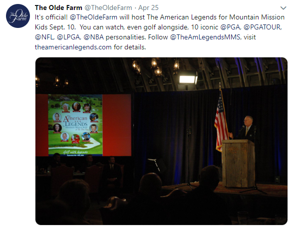 The Olde Farm Tweet